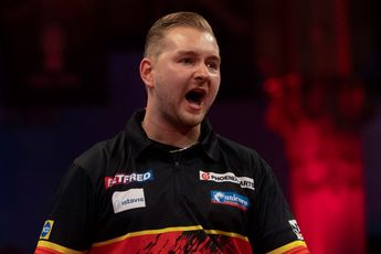 Van den Bergh breaks 180 record in Chisnall victory at World Matchplay