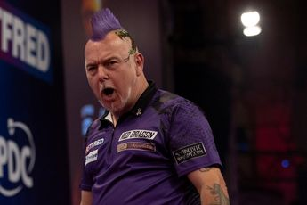 Wright produces seventh highest average in World Matchplay history during Van Gerwen win