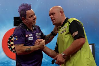 Wright increases gap with Van Gerwen on world rankings, White drops out of top 16