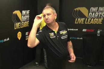 VIDEO: Burnett hits streamed nine-dart finish for first time in career