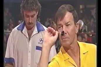 FORGOTTEN DARTERS: Graham Hunt became first Australian to win a major tournament