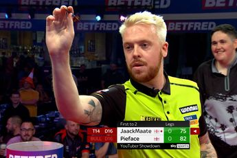 VIDEO: JaackMaate faces Pieface in YouTuber Showdown at 2021 World Matchplay