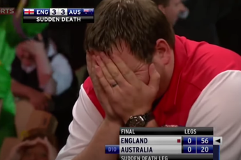 THROWBACK VIDEO: Drama filled sudden death final in 2012 World Cup of Darts between Australia and England