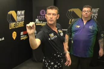 Osborne throws third nine-darter within two weeks in Online Darts League