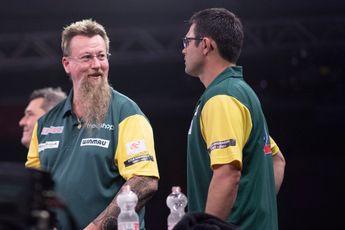 Australia claim safe passage through to World Cup of Darts Quarter-Finals