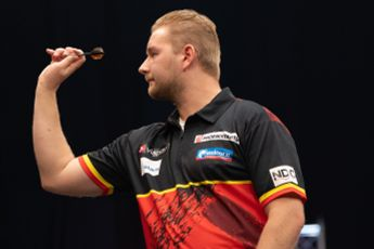 """Van den Bergh after stunning comeback to win opening event at PDC Super Series 7: """"I just feel very lucky"""""""