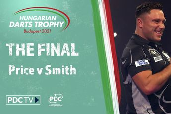 VIDEO: Price faces Smith in final of inaugural Hungarian Darts Trophy as European Tour returns