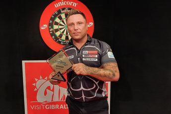Price's whitewash final win at Gibraltar Darts Trophy only third in European Tour history