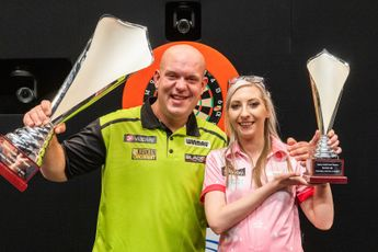 """Sherrock 'proud' despite Nordic Darts Masters final defeat: """"Showing everyone how I can play and pushing one of the best in the world"""""""