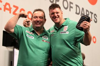 Northern Ireland whitewash dismal Portugal to reach World Cup of Darts quarter-finals for first time since 2016