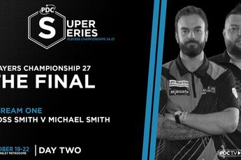 VIDEO: Michael Smith faces Ross Smith in Players Championship 27 (PDC Super Series 7) final
