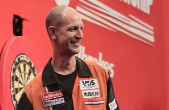 ON THIS DAY IN ... 2004: Scholten claims major title at UK Open