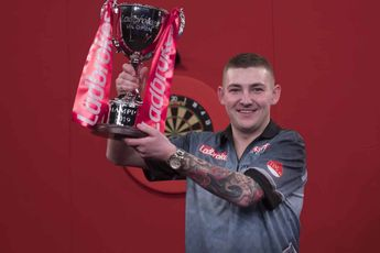 """Aspinall looks back on UK Open winning moment: """"I can't believe how much weight I put on in two years"""""""