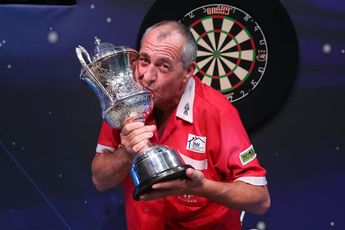 """Warren on BDO World Championship trophy being seized: """"From this day on, Des and Paula Jacklin are pigs simple as"""""""