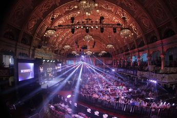 Session times confirmed for World Matchplay: No Sunday double session and five matches per night during first round