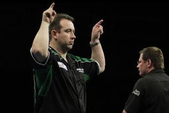 THROWBACK VIDEO: Dolan gains 'History Maker' moniker with first ever World Grand Prix double start nine-dart finish