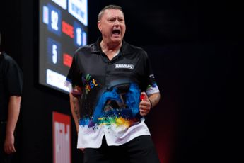 Schedule Wednesday session Online Darts League (Week Three) including Painter and Thornton