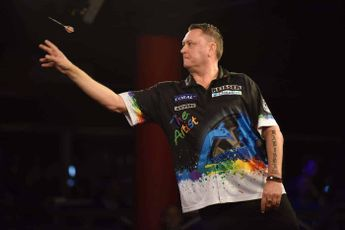 Painter, Thornton and Webster in action during third week of Online Darts League