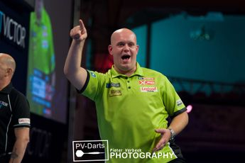 Clinical Michael van Gerwen starts off World Championship defence with win over Christian Kist