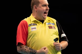 Top 10 highest individual match averages at the World Cup of Darts (2010-2020)