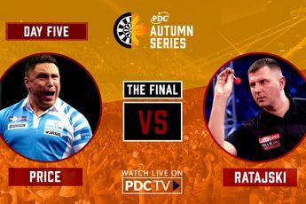 VIDEO: Price faces Ratajski in PDC Autumn Series Day Five final