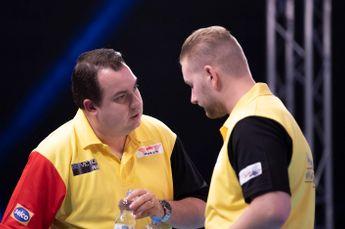 Speelschema vrijdagavond op World Cup of Darts met onder meer Engeland en België