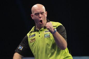 Grand Slam of Darts 2020: Speelschema donderdagavond met laatste poulewedstrijden voor Van Gerwen en Van Duijvenbode