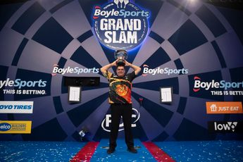 Kaartverkoop voor Grand Slam of Darts 2021 komende week van start