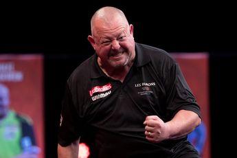 King verslaat wereldkampioen Price in leg-decider en bereikt tweede Masters-finale
