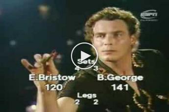 THROWBACK VIDEO: Eric Bristow treft Bobby George in finale BDO-WK 1980