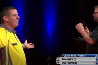 THROWBACK VIDEO: Chisnall gooit negendarter tijdens Gibraltar Darts Trophy