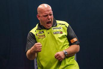 Van Gerwen wint voor het eerst in 293 dagen weer een toernooi: 'Maar denk nu niet dat ik weer elke week een toernooi ga winnen'