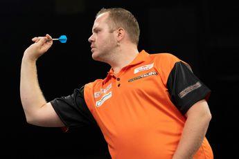 Speelschema zondagmiddag op World Cup of Darts met Nederland tegen Schotland in kwartfinales