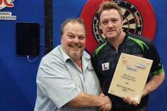 Eindstand van PDC UK Challenge Tour Order of Merit na twaalf toernooien