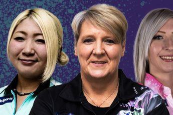 Deelnemers voor eerste zes toernooien van PDC Women's Series bekend