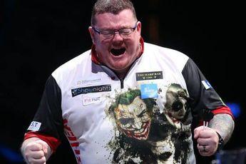 John O'Shea gevierde man tijdens veertiende speelronde in Remote Darts League