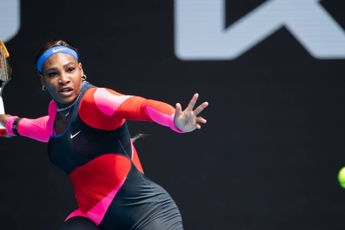 VIDEO: Serena Williams and Maria Sharapova appear to cool feud