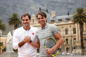 Federer accepts Nadal's request to team up in doubles at next year's Laver Cup