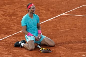 Rafael Nadal out of top four for first time since 2017