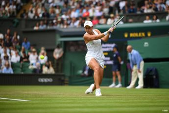 """""""A moment of pure excitement"""" - Barty relishing opportunity to compete in a Wimbledon final"""