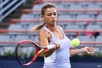 """Was very emotional"" says Giorgi on WTA 1000 Montreal win"