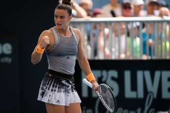"""""""We've been clever with scheduling and rest"""" says Maria Sakkari on reason for career year"""
