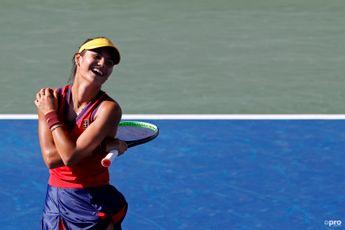 """She needs to stay focused and I wish her luck"" says Simona Halep on Emma Raducanu"