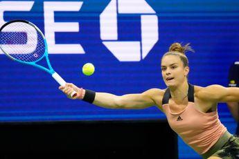 Maria Sakkari battles past Simona Halep from Kremlin Cup semifinal