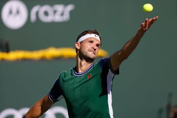 """""""I kept trying and believing and that's the difference"""" says Dimitrov after win over Hurkacz"""