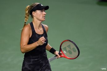 """""""Ever single game was tough"""" admits Angelique Kerber after another win in the desert"""