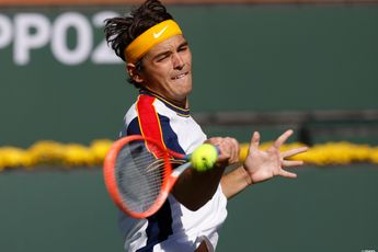 """""""I'm nowhere near my peak"""" says Taylor Fritz after Indian Wells run"""