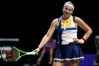 Ostapenko to face Tauson in WTA Luxembourg final
