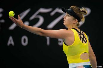 Svitolina, Swiatek move on at BNP Paribas Masters Indian Wells