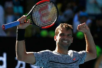 Dimitrov cruises through to San Diego quarterfinals following Auger-Aliassime withdrawal
